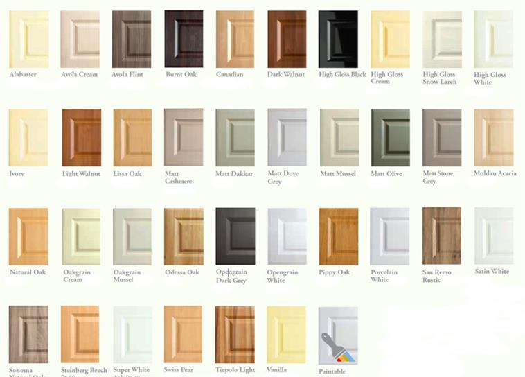 Coulby Interiors Door Colours